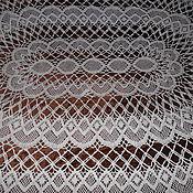 Винтаж handmade. Livemaster - original item Tablecloth bobbin lace,cotton,vintage Austria. Handmade.