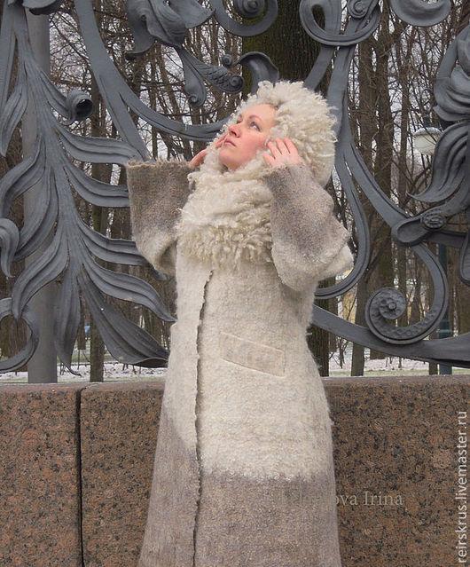 """Верхняя одежда ручной работы. Ярмарка Мастеров - ручная работа. Купить пальто зимнее """"Для себя любимой"""". Handmade. Зимнее пальто"""