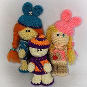 Куклы и игрушки ручной работы. Ярмарка Мастеров - ручная работа Девочки-припевочки. Handmade.