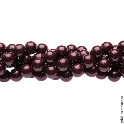 Для украшений ручной работы. Ярмарка Мастеров - ручная работа. Купить Жемчуг Сваровски 6 мм 5810 Blackberry (06-784). Handmade.