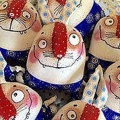 Куклы и игрушки handmade. Livemaster - original item Funny rabbits. Handmade.