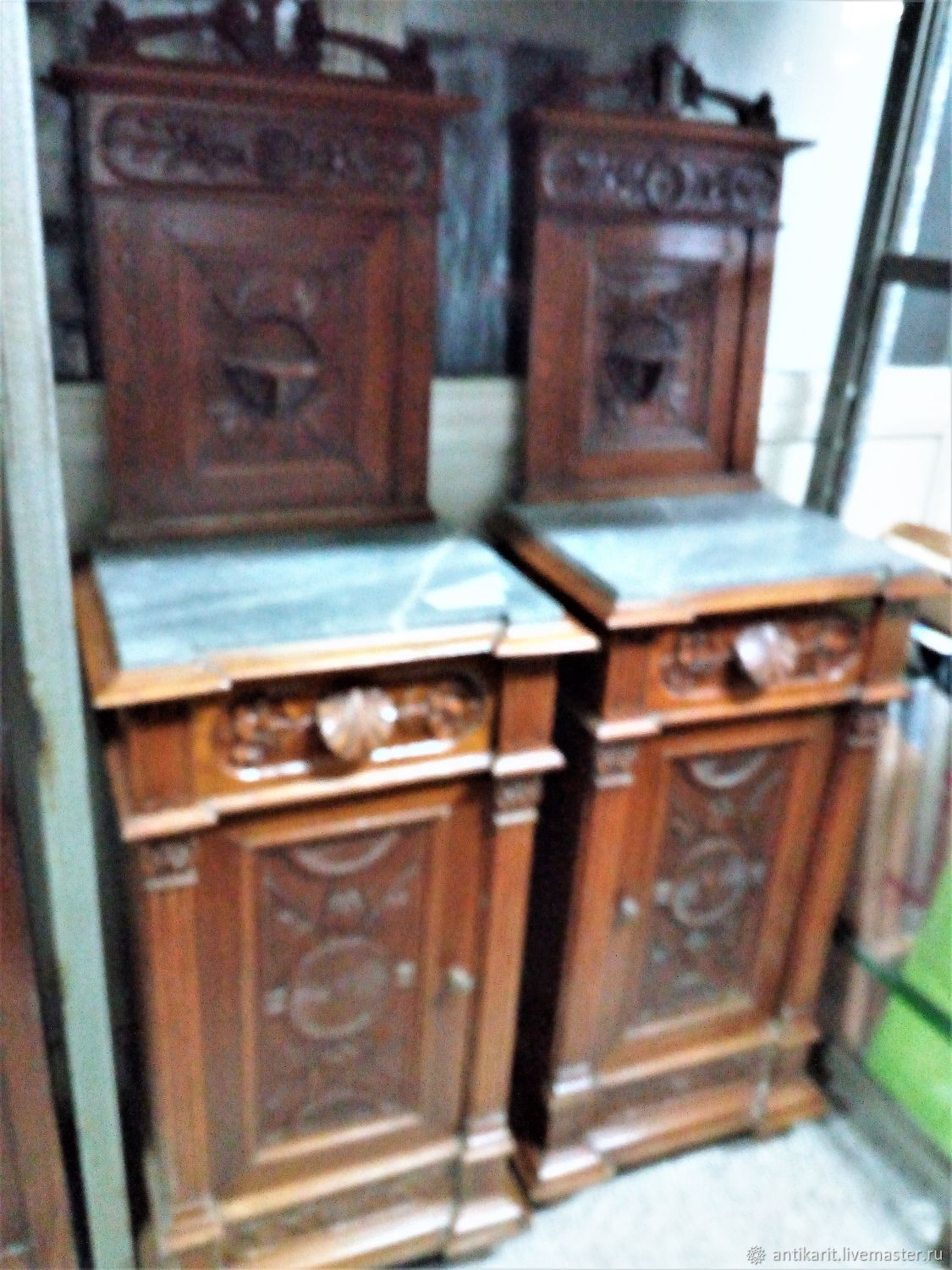 pair of bedside tables italy early xx century shop online on rh livemaster com