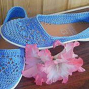 Обувь ручной работы handmade. Livemaster - original item Ballet Flats Fishnet. Handmade.