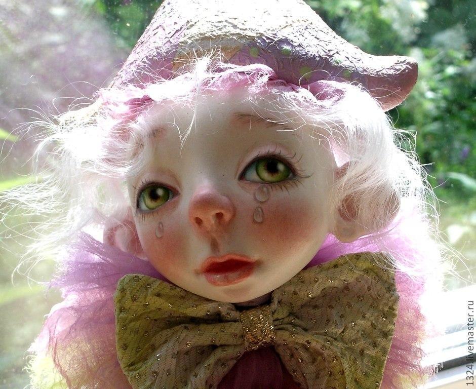 """Коллекционные куклы ручной работы. Ярмарка Мастеров - ручная работа. Купить Кукла """"А клоуны остались."""". Handmade. Любовь"""