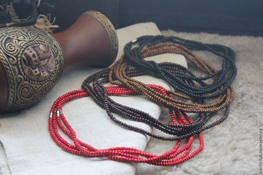 """Колье, бусы ручной работы. Ярмарка Мастеров - ручная работа. Купить Ожерелье """"Ведун"""". Handmade. Бусы, мужское ожерелье"""