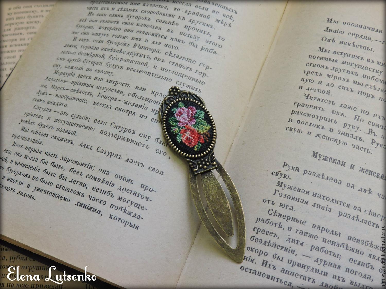 Вышивка миниатюра книга