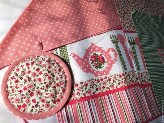 """Одежда для девочек, ручной работы. Ярмарка Мастеров - ручная работа. Купить """"Маленькой Хозяюшке"""" комплект для девочки. Handmade. Фартук для девочки"""