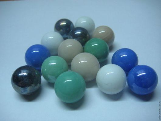 Другие виды рукоделия ручной работы. Ярмарка Мастеров - ручная работа. Купить Стеклянные цветные шарики (марблс). Handmade.