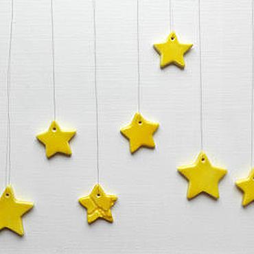 Для дома и интерьера ручной работы. Ярмарка Мастеров - ручная работа Интерьерные звёзды. Handmade.