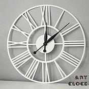 Для дома и интерьера handmade. Livemaster - original item White wall clock