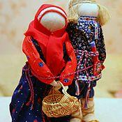 """Куклы и игрушки ручной работы. Ярмарка Мастеров - ручная работа Народные куклы"""" Муж и жена"""". Handmade."""