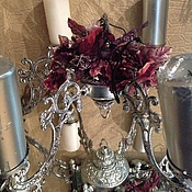 Для дома и интерьера ручной работы. Ярмарка Мастеров - ручная работа Подсвечник на 6 свечей для круглого большого стола. Handmade.