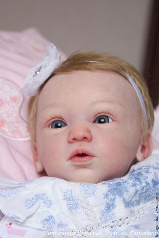 Куклы-младенцы и reborn ручной работы. Ярмарка Мастеров - ручная работа. Купить Кукла реборн из молда Милена. Handmade. Голубой