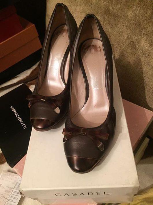 Винтажная обувь. Ярмарка Мастеров - ручная работа. Купить Туфли бренд CASADEI оригинал. Handmade. Бренд, Красивые туфли