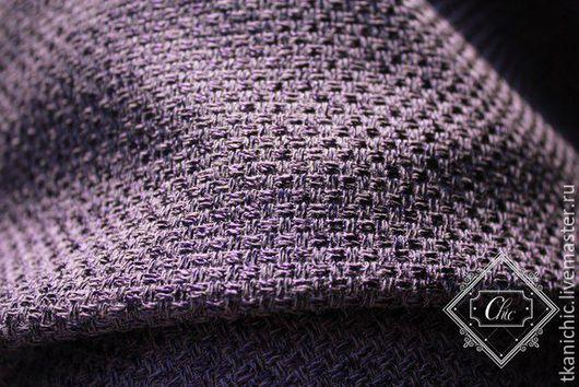 Шитье ручной работы. Ярмарка Мастеров - ручная работа. Купить ткани Рогожка  цв 4. Handmade. Тёмно-фиолетовый, рогожка