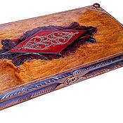 Сувениры и подарки handmade. Livemaster - original item More backgammon, handmade 55x55 cm. Handmade.