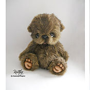 Teddy Bears handmade. Livemaster - original item Teddy bear Plum. Handmade.