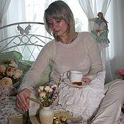 Одежда ручной работы. Ярмарка Мастеров - ручная работа Кофточка -Ванильный десерт. Handmade.