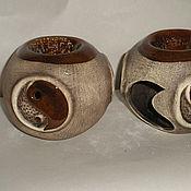 Для дома и интерьера ручной работы. Ярмарка Мастеров - ручная работа аромалампа-шар инь-янь. Handmade.