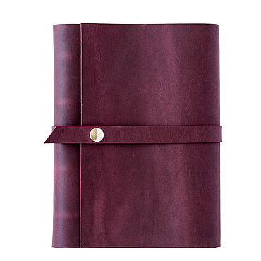 Stationery handmade. Livemaster - original item Leather notebook on the rings with strap and magnetic button. Handmade.