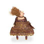 Куклы и игрушки ручной работы. Ярмарка Мастеров - ручная работа Текстильная кукла Втора Матильда Виардо. Handmade.