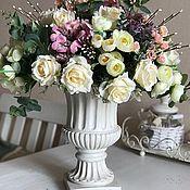 Для дома и интерьера ручной работы. Ярмарка Мастеров - ручная работа Букет с вазой. Handmade.
