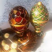 Подарки к праздникам handmade. Livemaster - original item Interior Easter eggs-casket Faerietale. Handmade.