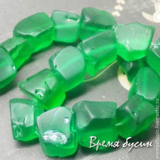 Для украшений ручной работы. Ярмарка Мастеров - ручная работа. Купить 4899. Аква-кварц крупный необработанный кусочек. Зеленый. Handmade.
