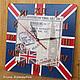 Часы для дома ручной работы. Ярмарка Мастеров - ручная работа. Купить Великобритания, часы. Handmade. Декупаж, англия