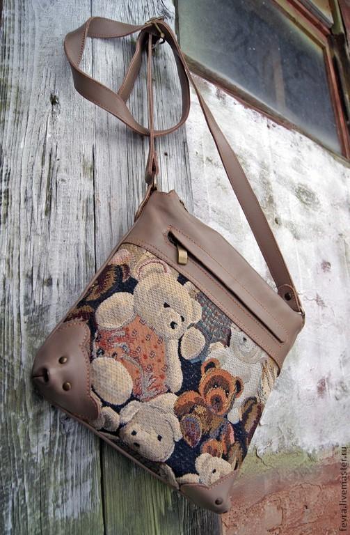 Магазин сумок с мишками