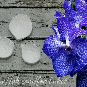 Материалы для творчества ручной работы. Ярмарка Мастеров - ручная работа Молд для фоамирана орхидея Ванда. Handmade.