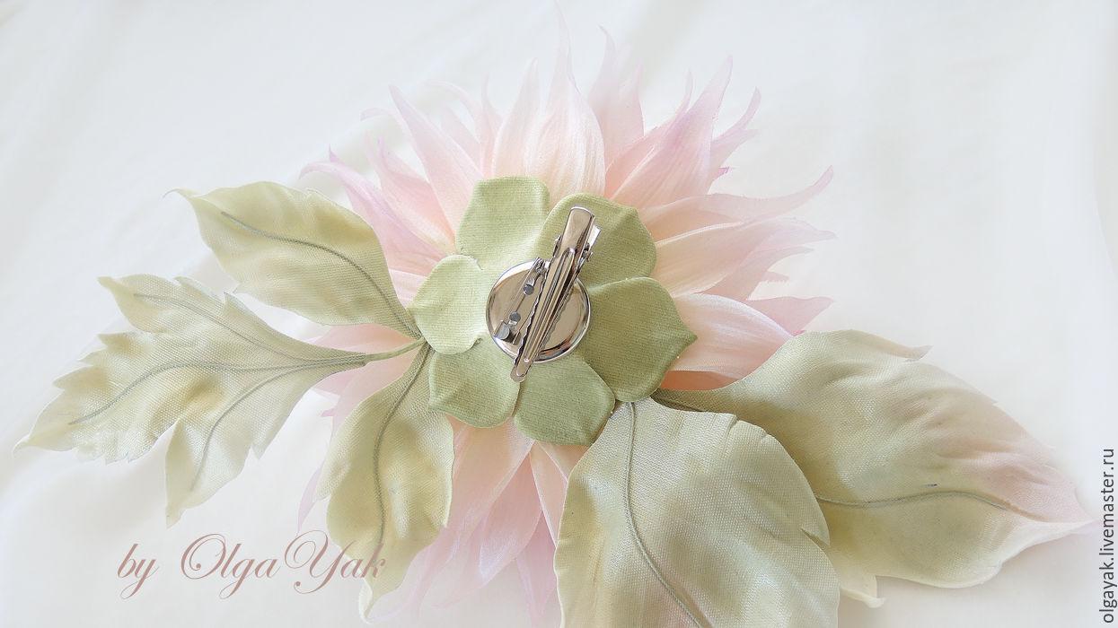 Цветы георгины из ткани своими руками фото 769
