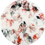 Картины и панно handmade. Livemaster - original item Interior painting / Black in red. Handmade.