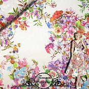 """Материалы для творчества handmade. Livemaster - original item Батист Blumarine """"Флоретта"""" итальянские ткани. Handmade."""