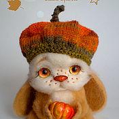 Куклы и игрушки ручной работы. Ярмарка Мастеров - ручная работа Гарбузик(Тыковка), валяная игрушка. Handmade.
