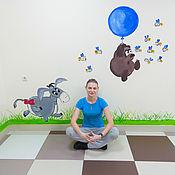 Дизайн и реклама handmade. Livemaster - original item Painting walls in a children`s hospital.. Handmade.