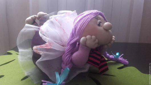 Человечки ручной работы. Ярмарка Мастеров - ручная работа. Купить Кукла попик-симпотяжка. Handmade. Комбинированный, куклы-попики