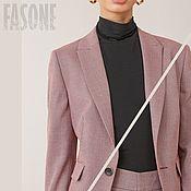 Одежда handmade. Livemaster - original item Women`s suit pink with culottes Women`s Trouser suit. Handmade.