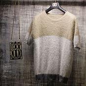 Одежда handmade. Livemaster - original item shirt with short sleeve. Handmade.