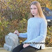Одежда handmade. Livemaster - original item sweater Royal. Handmade.
