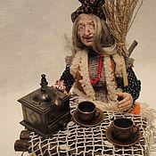 Куклы и игрушки ручной работы. Ярмарка Мастеров - ручная работа Баба Яга  Угощайтесь.... Handmade.