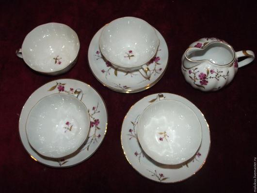 Винтажная посуда. Ярмарка Мастеров - ручная работа. Купить Чайные пары Лучшее из ЛФЗ 50-е годы. Handmade.