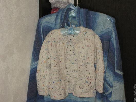 Одежда для девочек, ручной работы. Ярмарка Мастеров - ручная работа. Купить Кофточка для юной принцессы. Handmade. Комбинированный, кофта на заказ