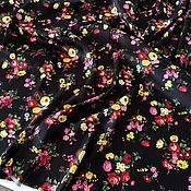 Материалы для творчества handmade. Livemaster - original item Italian fabric artificial silk