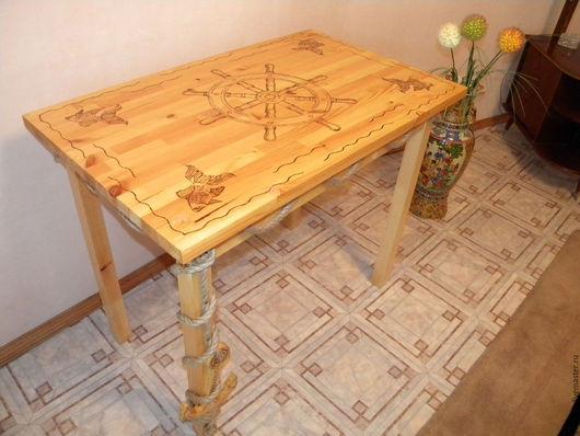 Этот стол создает позитивное настроение)))
