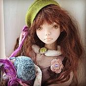 Куклы и игрушки ручной работы. Ярмарка Мастеров - ручная работа Элисон в стиле бохо. Handmade.