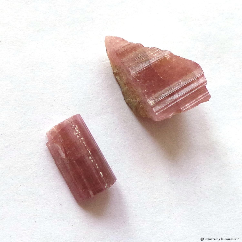Турмалин кристаллы природные розовые -Мини, Минералы, Москва,  Фото №1