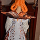 Куклы Тильды ручной работы. Тильда,,Булочница,,. Елена (elenadollworld). Интернет-магазин Ярмарка Мастеров. Оранжевый, колпак, ангел, крендель