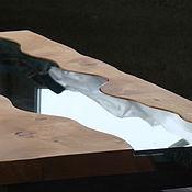 Для дома и интерьера ручной работы. Ярмарка Мастеров - ручная работа Стол из кедра в стиле лофт Бирюзовая Катунь. Handmade.