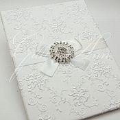Свадебный салон ручной работы. Ярмарка Мастеров - ручная работа Папка для свидетельства White Perfection. Handmade.
